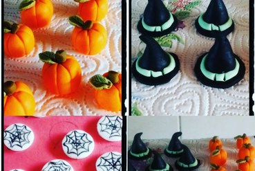 halloween cup-cake toppers