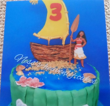 "girls ""Moana"" inspired birthday"
