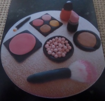 edible fondant make-up