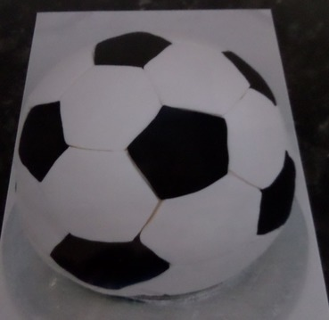 boys\mens football birthday sponge