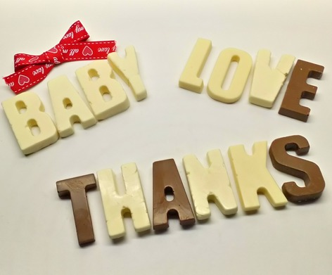 chocolate baby, love and thanks