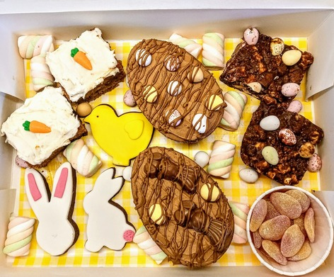 Large/family size Easter treat box