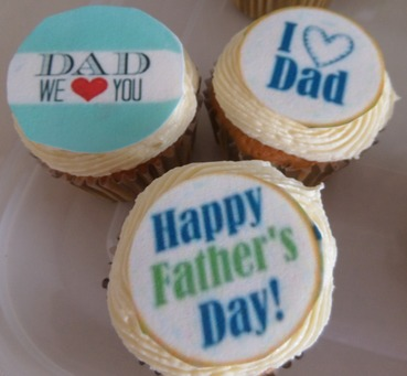 dad and fathers day toppers