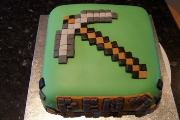 minecraft inspired birthday